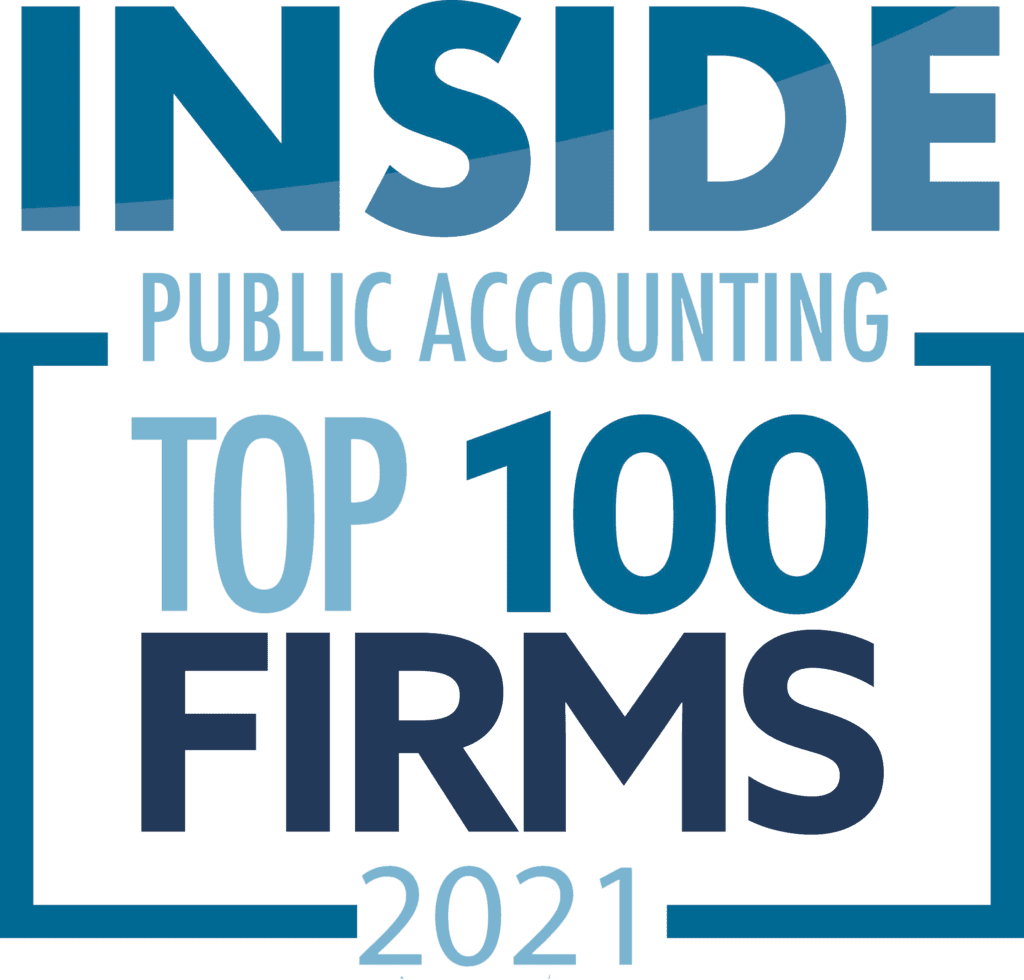 Inside Public Accounting, Top 100 Firms 2021 logo